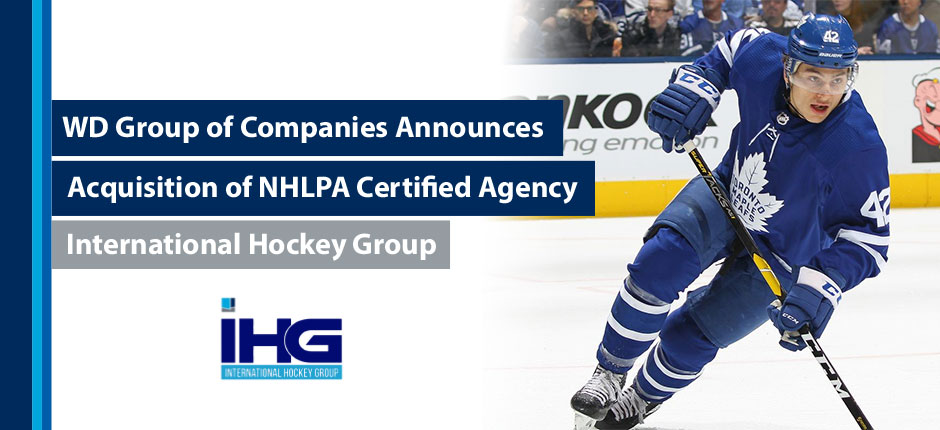 WD Group of Companies Acquires International Hockey Group
