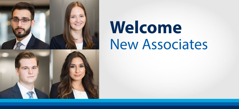 Wildeboer Dellelce Welcomes Four New Associates